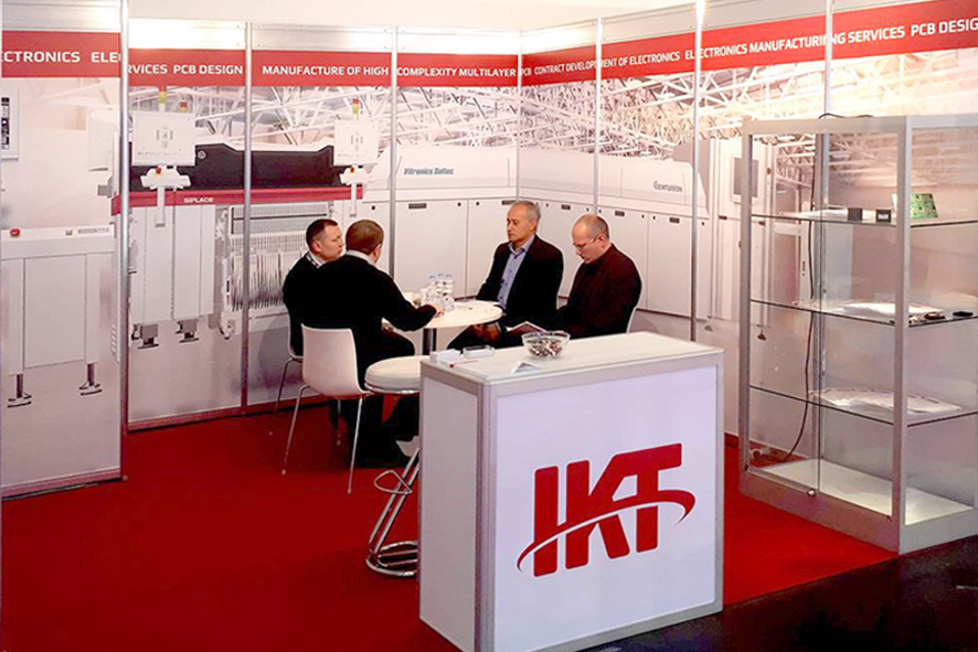 "IKT – Exhibitor at the Exhibition ""Electronica 2018"" in Munich"